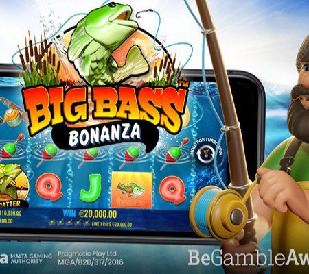 Pragmatic Play Announces new Big Bass Bonanza online slot game