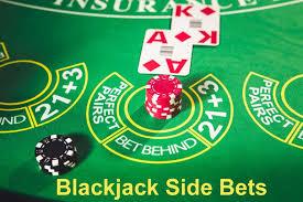 Two Bonus Spin Blackjack Side Bets